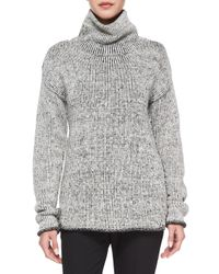 Theory - Black Tessalee Fine Haven Sweater - Lyst