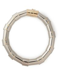 Lanvin | Metallic Articulated Necklace | Lyst