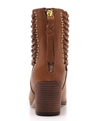 Twelfth Street Cynthia Vincent | Montana Booties  Brown | Lyst