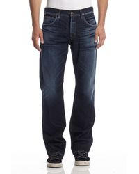 Hudson Jeans - Blue Wilde Relaxed Straight for Men - Lyst