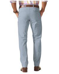 Dockers | Gray D1 Slim Fit Alpha Khaki On-the-go Flat Front Pants for Men | Lyst