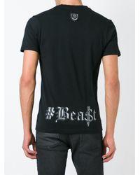 Philipp Plein - Black 'wild Animal' T-shirt for Men - Lyst