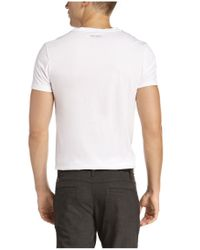 BOSS Orange - White T-shirt 'timblin 3' In Pima Cotton for Men - Lyst