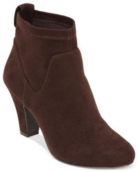 BCBGeneration | Brown Delilah Dress Booties | Lyst