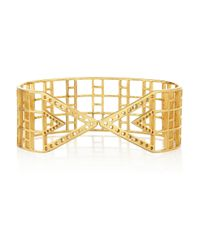 Arme De L'Amour - Metallic Gold-plated Arm Cuff - Lyst