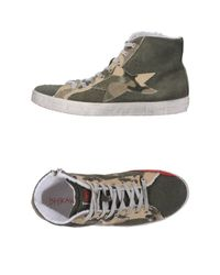 Ishikawa | Green High-tops & Trainers | Lyst