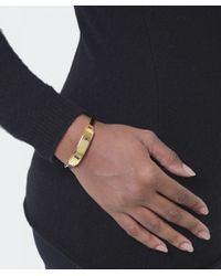 Marc Jacobs - Metallic Enamel Hinge Cuff - Lyst