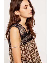 Urban Outfitters | Metallic Silver Wire Wrap Arm Cuff Bracelet | Lyst