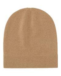 Uniqlo Cashmere Knit Beanie in Brown  68391216e32c