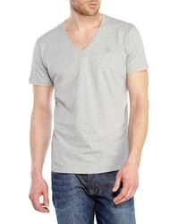 DIESEL - Gray Ruth V-Neck Tee for Men - Lyst