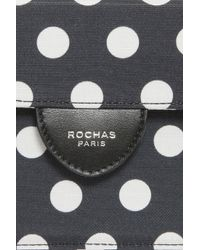 Rochas - Black Mini Polka Dot Handbag - Lyst