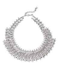 Uno De 50 | Metallic Where Am I Collar Necklace | Lyst