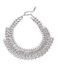 Uno De 50 | Metallic Where Am I Collar Necklace | Lyst