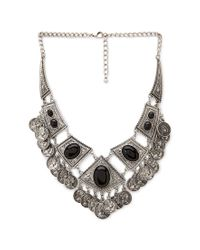 Forever 21 - Metallic -inspired Bib Necklace - Lyst