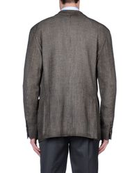Lardini - Brown Blazer for Men - Lyst