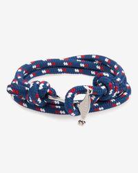 Ted Baker - Blue Rope And Metal Bracelet for Men - Lyst