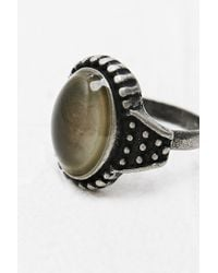Urban Outfitters - Metallic Mood Ring in Tarnished Silver - Lyst