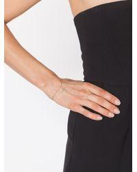 Jacquie Aiche | Metallic Evil Eye Protection Finger Bracelet | Lyst