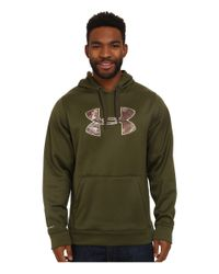 Under Armour - Green Storm Caliber Hoodie for Men - Lyst