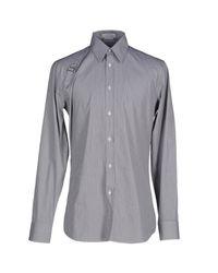 Alexander McQueen - Black Shirt for Men - Lyst