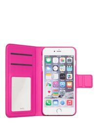 Kate Spade   Black Tiny Gold Dot Iphone 6 Plus Folio   Lyst