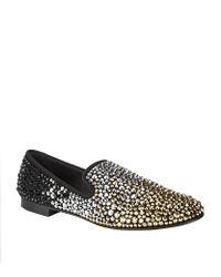 Giuseppe Zanotti - Multicolor Multi Crystal Loafer for Men - Lyst