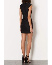 TOPSHOP - Black Bandage Bodycon Dress - Lyst