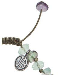 Joseph Brooks | Green Flourite Bracelet for Men | Lyst
