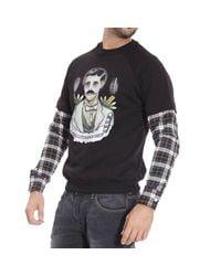 Frankie Morello - Black Sweater for Men - Lyst
