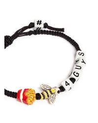 Venessa Arizaga - Black Fries B4 Guys Friendship Bracelet - Lyst