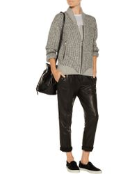 IRO - Natural Ribbed Wool Sweater - Lyst