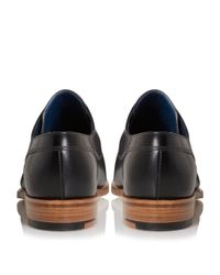 Barker | Black Kurt Pointed Toe Leather Derby Shoes for Men | Lyst