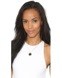 Marc By Marc Jacobs | Metallic Colored Bottle Top Pendant Necklace - Royal Blue | Lyst