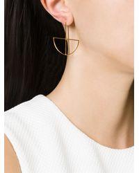 Katrine Kristensen   Metallic Small 'egyptian' Earring   Lyst