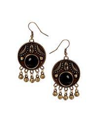 ASOS - Metallic Summer Bell Earrings - Lyst
