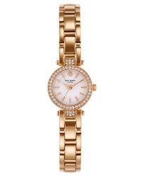 kate spade new york - Pink Ladies Tiny Gramercy Rose Goldtone Watch - Lyst