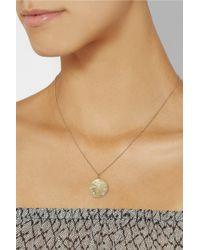 Brooke Gregson - Metallic Aries 14-Karat Gold Diamond Necklace - Lyst