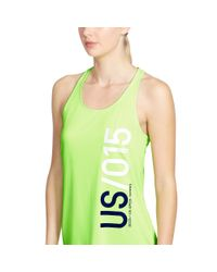 Ralph Lauren | Green Us Open Graphic Tank | Lyst