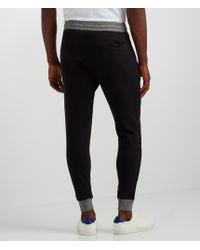 Aéropostale | Black Marled Trim Jogger Sweatpants | Lyst