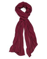 Echo - Solid Wrap - Purple - Lyst