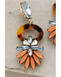 Anthropologie - Orange Tirrenu Earrings - Lyst