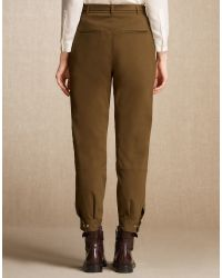 Belstaff | Green Reilelly Trousers | Lyst