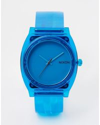 Nixon - Blue Time Teller Watch A119 for Men - Lyst
