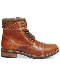 Steve Madden | Brown Shredder Desert Boots for Men | Lyst