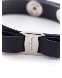 Ferragamo | Blue Vara Bow Bracelet | Lyst