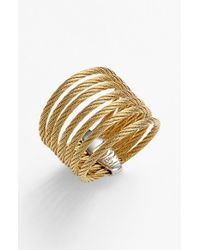Alor | Metallic 7-row Ring | Lyst