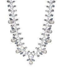 Givenchy | Metallic Crystal Cluster Collar Necklace | Lyst