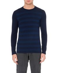 Icebreaker | Blue Tech 260 Long-sleeved Crew-neck Top for Men | Lyst