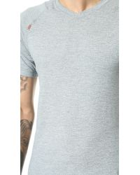 Rhone - Gray General Heathered Active Tee for Men - Lyst