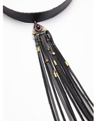 Free People - Black Moon Beam Choker - Lyst